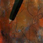 olio su tavola cm anno 2005