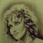 FIORELLA cm 30x30 olio su tavola la puoi trovare presso Galleria Magenta