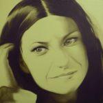 LAURA com 30x30 olio su tavola la puoi trovare presso Galleria Magenta